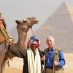 Camel at Giza, Egypt