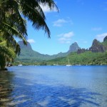 The island of Moorea