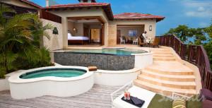 Millionaire Suite at Sandals La Toc in St. Lucia