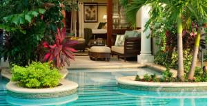Crystal Lagoon Swim-up Suite at Sandals Royal Caribbean